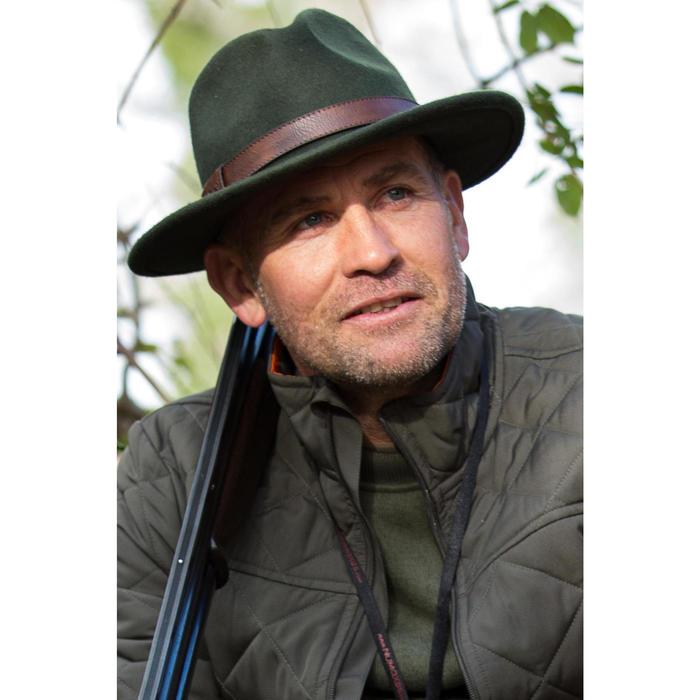 Chapeau chasse feutre vert
