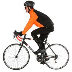 Lange fietsbroek zonder bretels heren 300 zwart - 1032277