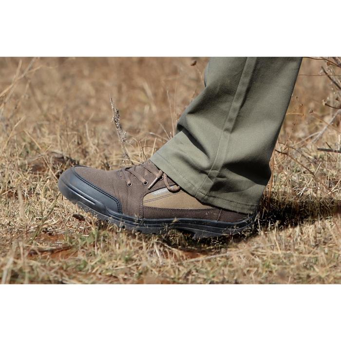 Chaussure chasse light 100 basse marron