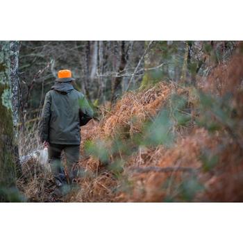 Wendehut Jagd wasserdicht orange/grün