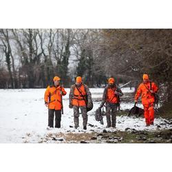 Omkeerbare pet voor de jacht oranje groen