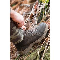 Chaussure chasse Imperméable Légère 500 marron