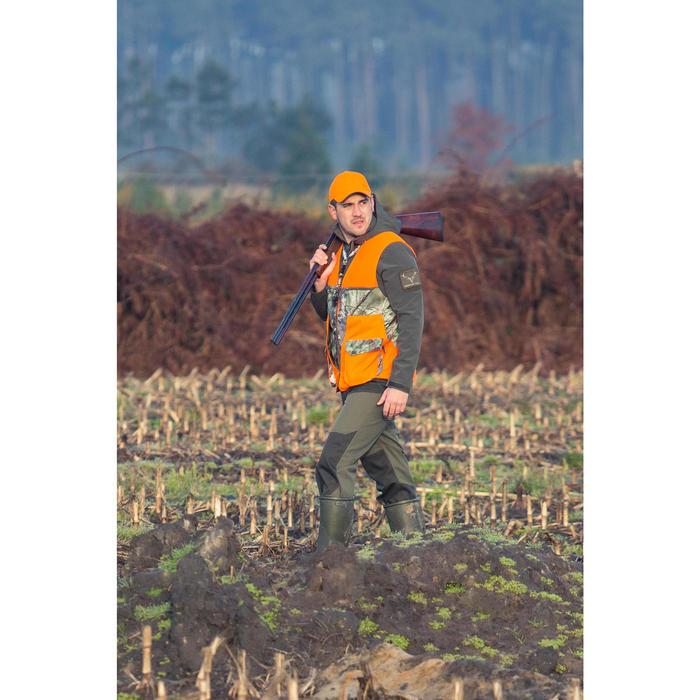 Gilet chasse renfort 500 Camofluo - 1032428