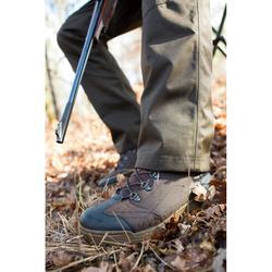 Jagd-Stiefel wasserdicht Land 100 warm braun