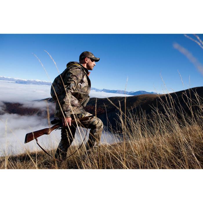Jagd-Schirmmütze Actikam 100 Camouflage Furtiv