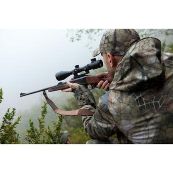 VESTE CHASSE ACTIKAM 500 IMPERMEABLE CAMOUFLAGE FURTIV