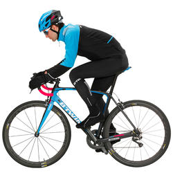 500 Cold Weather Road Cycling Bib Tights - Black