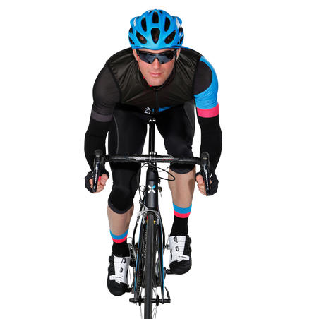 500 Road Cycling Gloves - Black