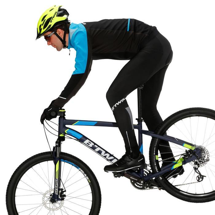 Lange fietsbroek 500 heren voor koud weer zwart