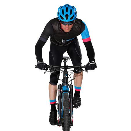 900 Cycling Socks - Black/Blue/Pink