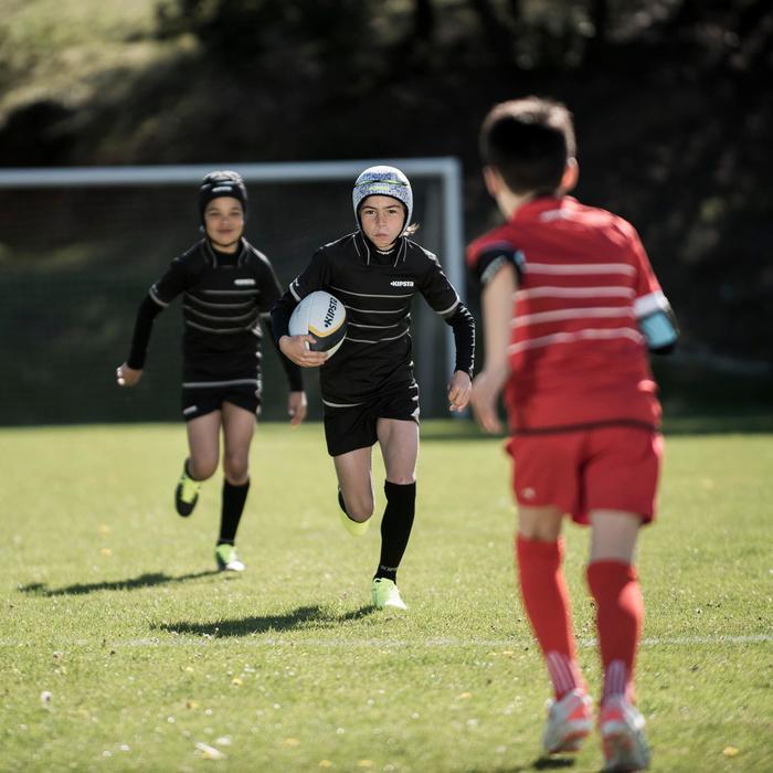 Short rugby Full H 100 enfant rouge