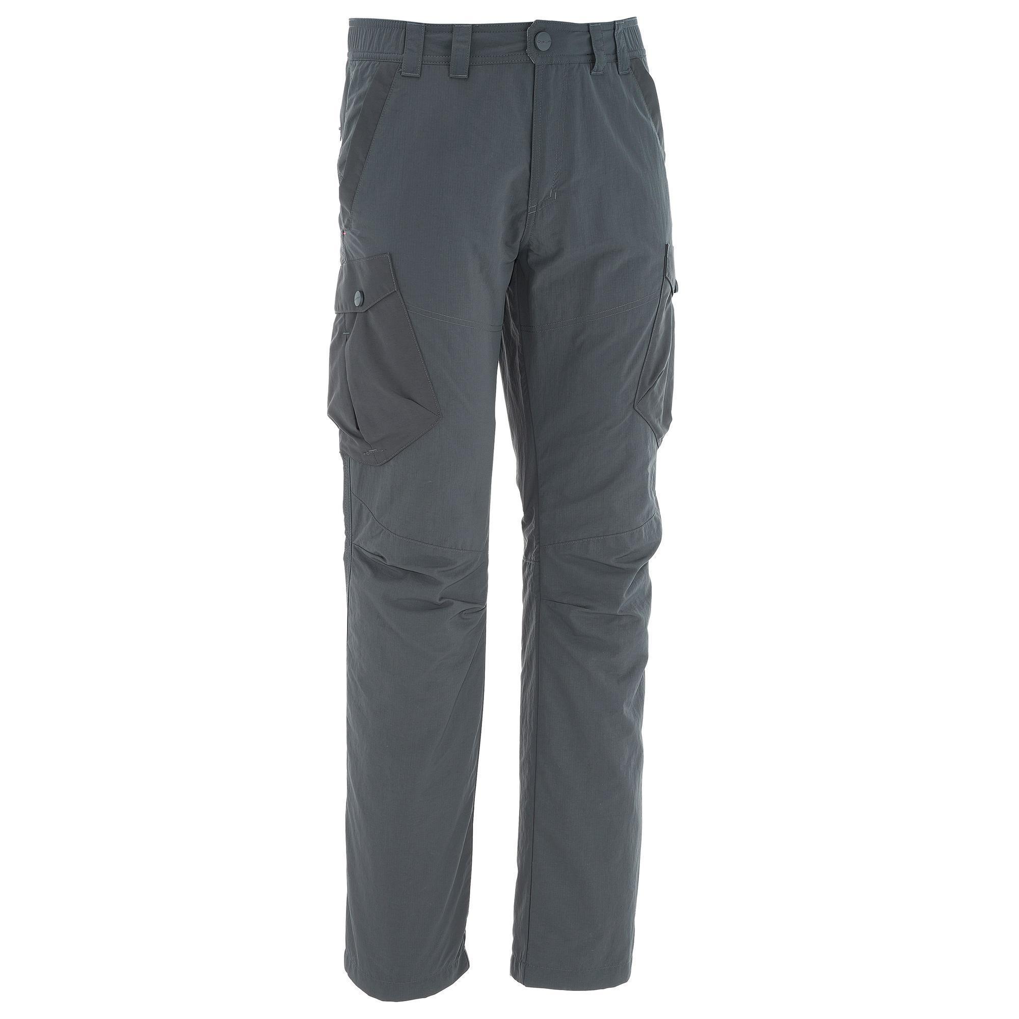 pantalon de randonn e neige homme sh500 chaud gris quechua. Black Bedroom Furniture Sets. Home Design Ideas