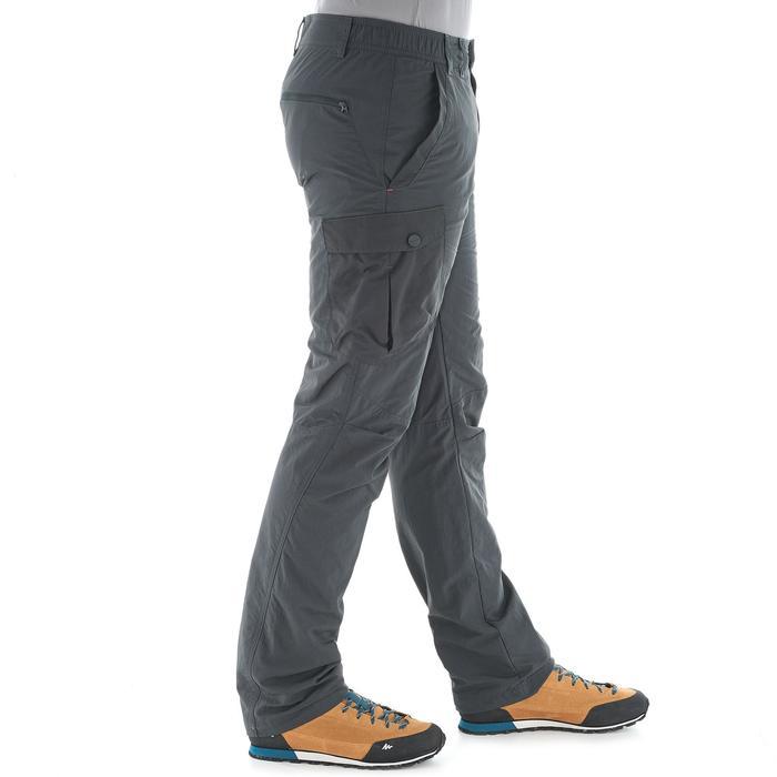 Wandelbroek voor de sneeuw heren SH500 warm grijs