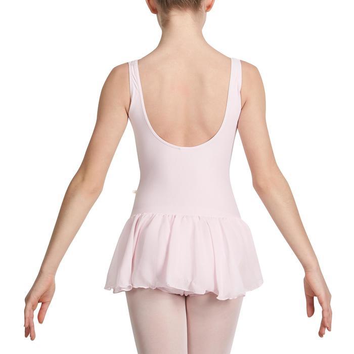 Justaucorps de danse classique DÉLIA avec jupette intégrée fille - 1032719