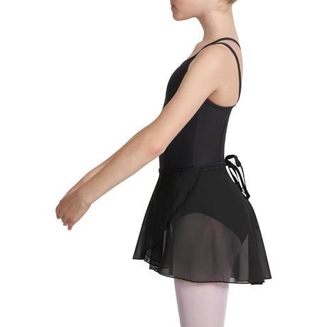 jupette de danse classique lucia noire fille domyos by decathlon. Black Bedroom Furniture Sets. Home Design Ideas