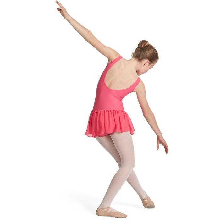 Justaucorps de danse classique DÉLIA avec jupette intégrée fille - 1032726
