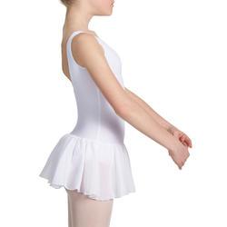 Balletpakje Délia met aangenaaid rokje voor meisjes - 1032753