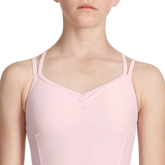 Justaucorps de danse classique fines bretelles fille SYLVIA - 1032775