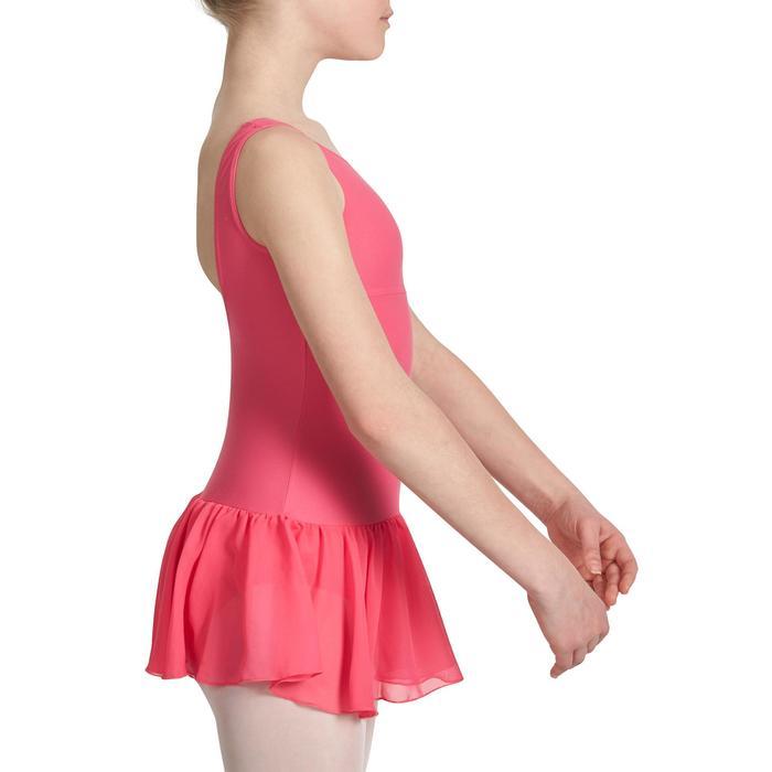 Justaucorps de danse classique DÉLIA avec jupette intégrée fille - 1032782