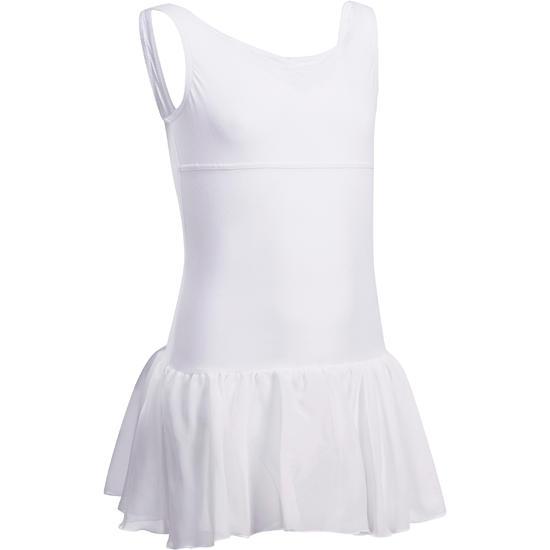 Balletpakje Délia met aangenaaid rokje voor meisjes - 1032795
