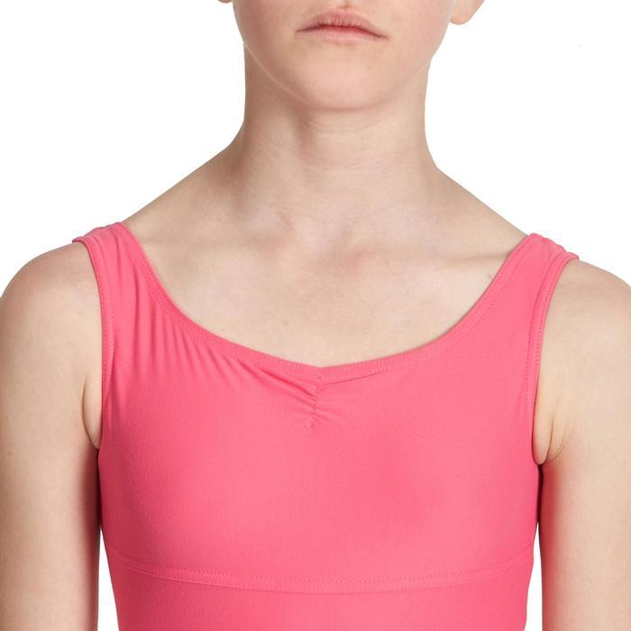 Justaucorps de danse classique DÉLIA avec jupette intégrée fille - 1032814