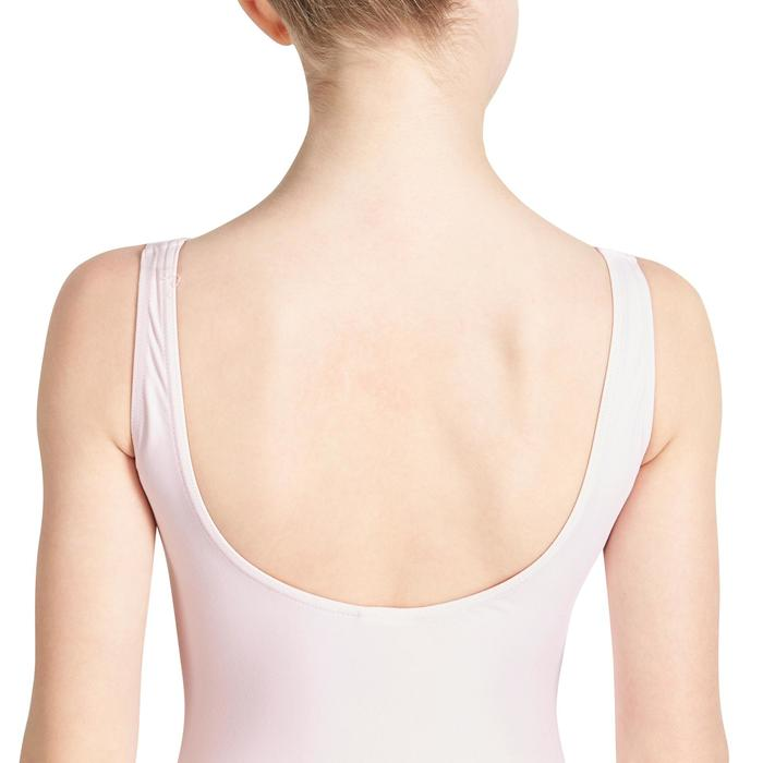 Justaucorps de danse classique DÉLIA avec jupette intégrée fille - 1032826