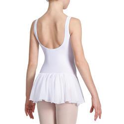 Balletpakje Délia met aangenaaid rokje voor meisjes - 1032829