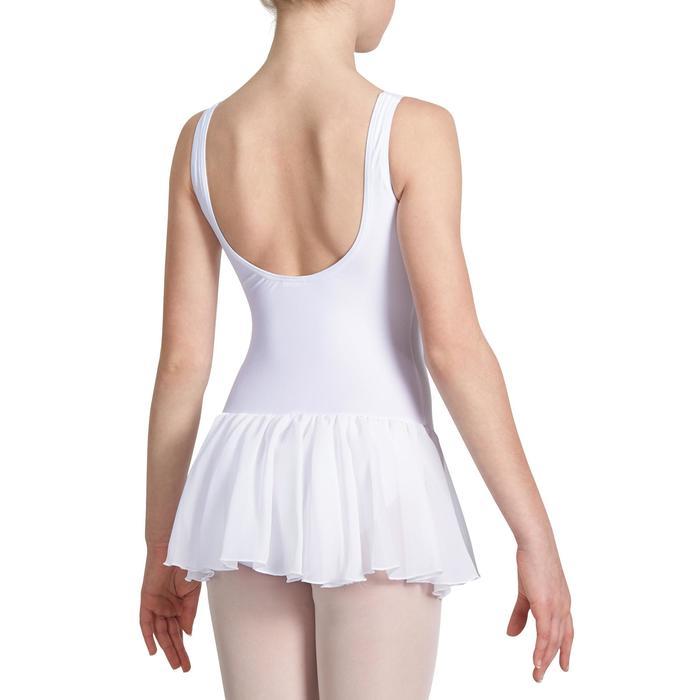 Justaucorps de danse classique DÉLIA avec jupette intégrée fille - 1032829