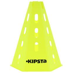 Pionnen set van 6, 30 cm hoog geel - 103293