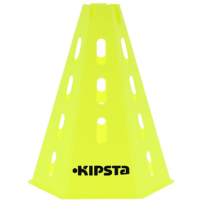Hütchen Trainingskegel 6er-Set 30cm gelb