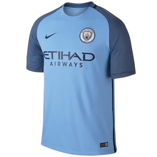 Voetbalshirt Manchester City thuisshirt voor kinderen blauw - 1032967