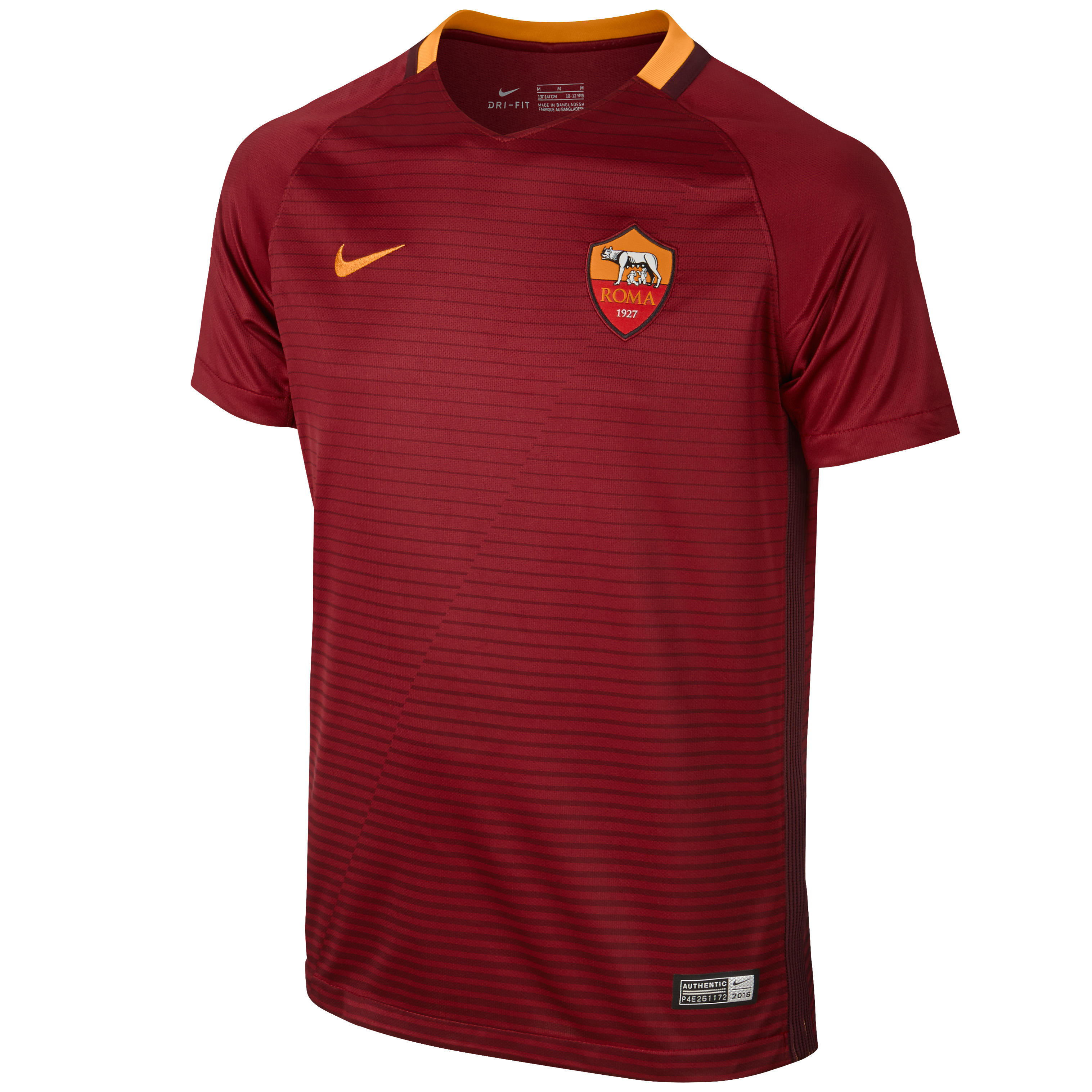 Nike Voetbalshirt AS Roma thuisshirt voor kinderen rood