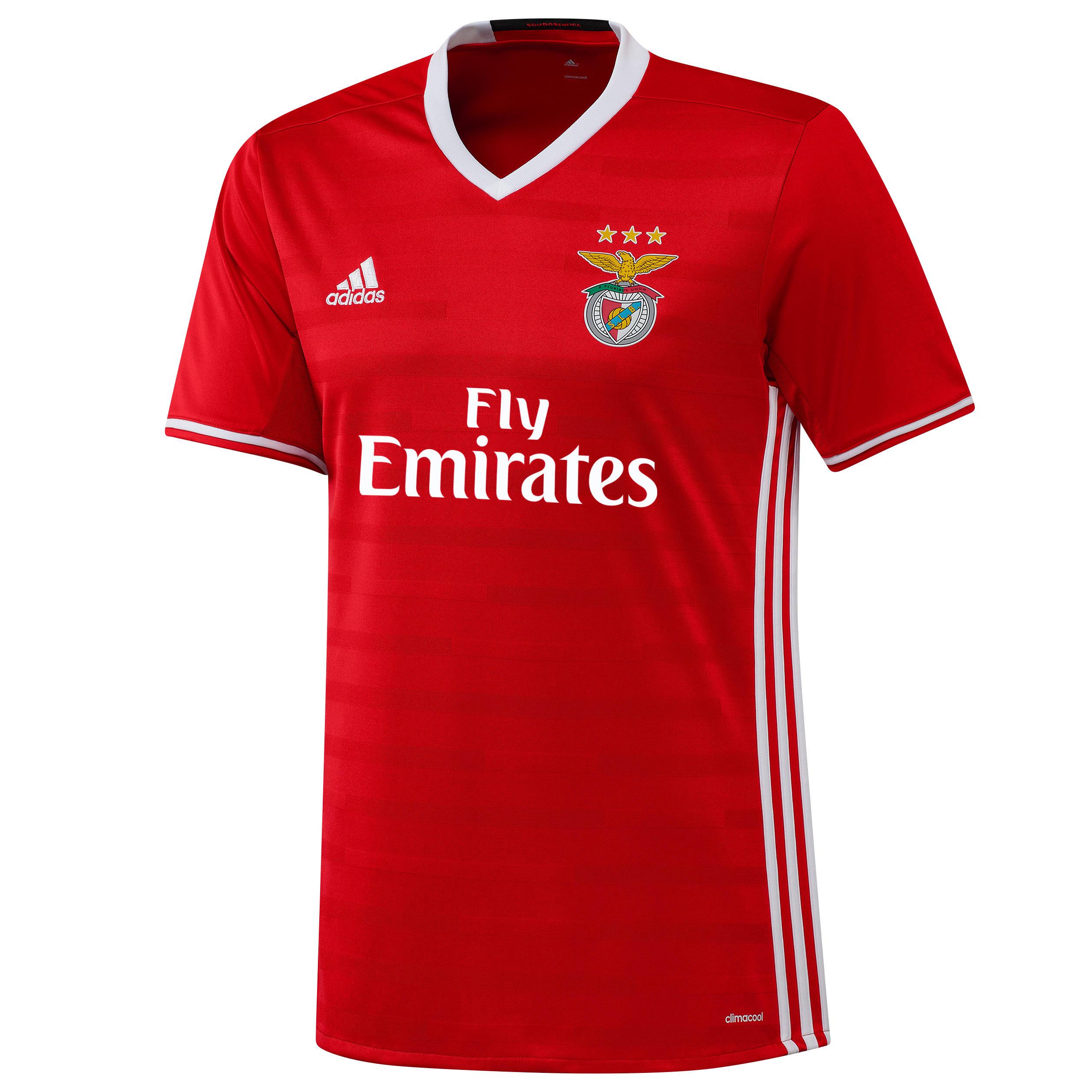 Adidas Voetbalshirt Benfica thuisshirt kinderen rood