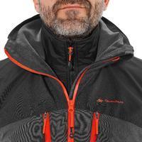 Chamarra trekking Rainwarm 500 3 en 1 hombre negro