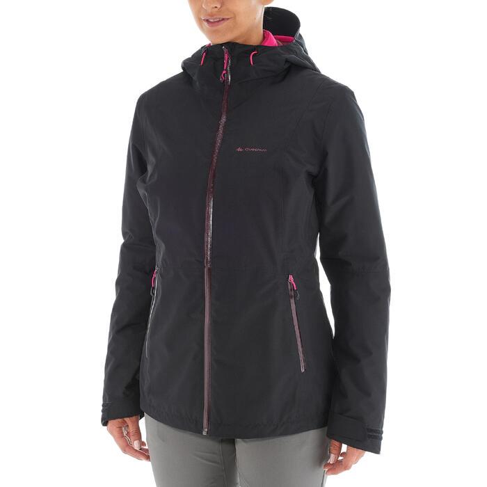 Veste trekking Rainwarm 500 3en1 femme - 1033105