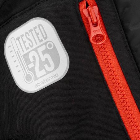 SH900 Warm Men's Snow Hiking Jacket - Black