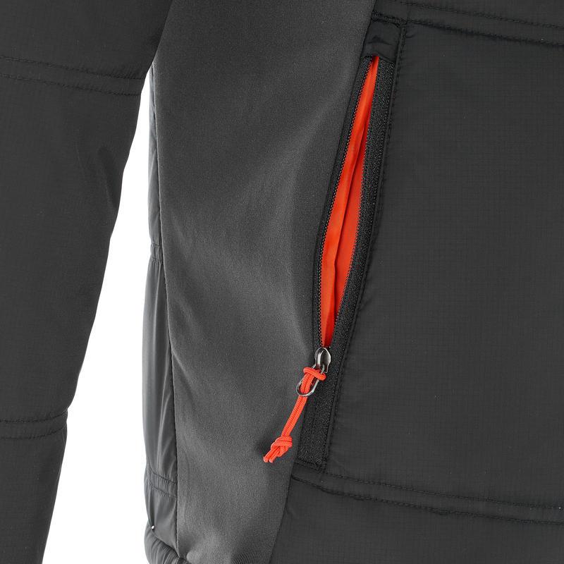 Travel Jacket-Men's 3 in 1 Waterproof Travel 500 -black