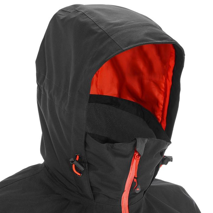 3-in-1-Jacke Rainwarm 500 Herren schwarz