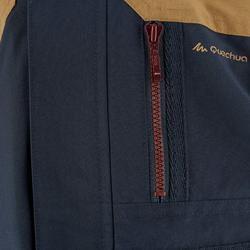Waterdichte warme jas voor trekking jongens Hike 500 3-in-1 marineblauw - 1033320