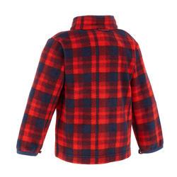 Waterdichte warme jas voor trekking jongens Hike 500 3-in-1 marineblauw - 1033357