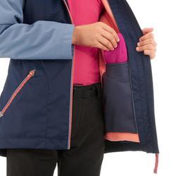 Hike 500 3合-1 女童登山防水保暖外套 - 藍