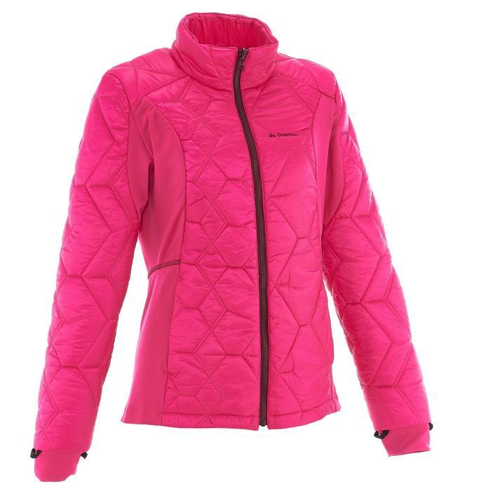 Veste trekking Rainwarm 500 3en1 femme - 1033564