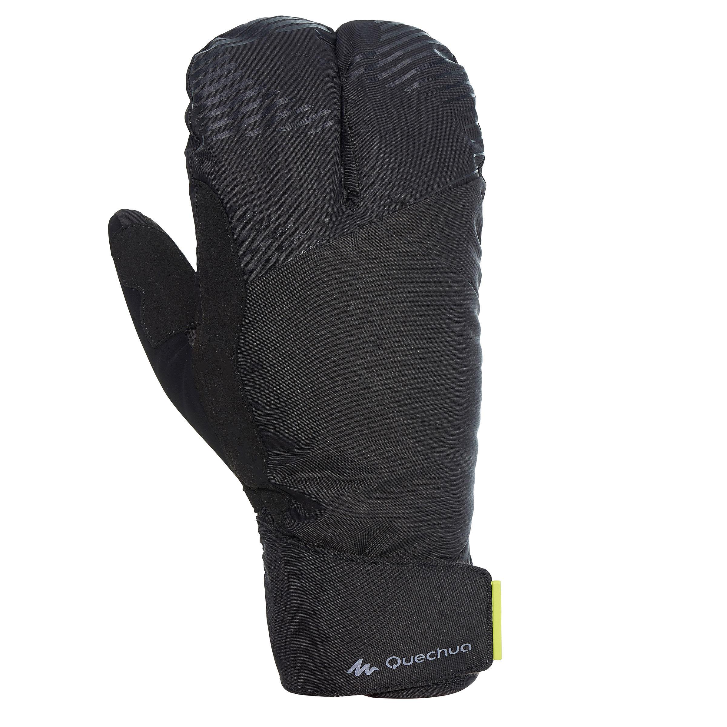 Quechua Handschoenen voor langlaufen X-warm zwart thumbnail