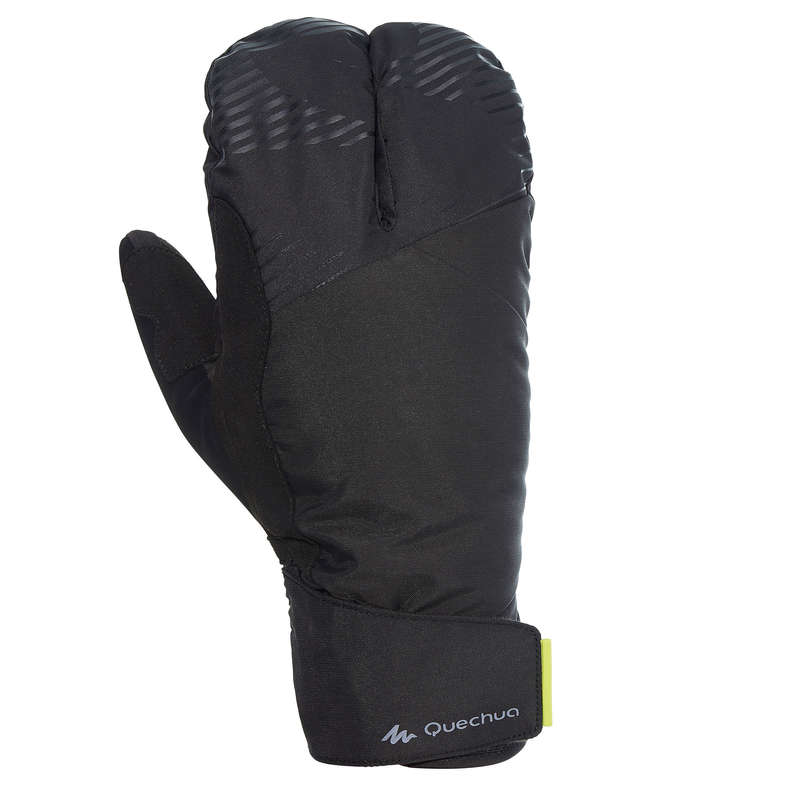 JUNIOR CROSS COUNTRY SKI CLOTHING Cross-Country Skiing - Extra Warm Gloves - Black INOVIK - Cross-Country Skiing