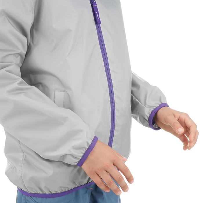 兒童保暖雪地健行外套SH50-灰色