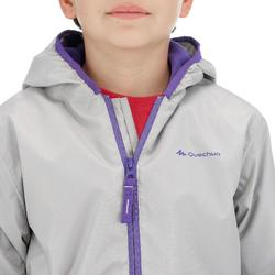 SH50 Warm Kids' Snow Hiking Jacket - Grey