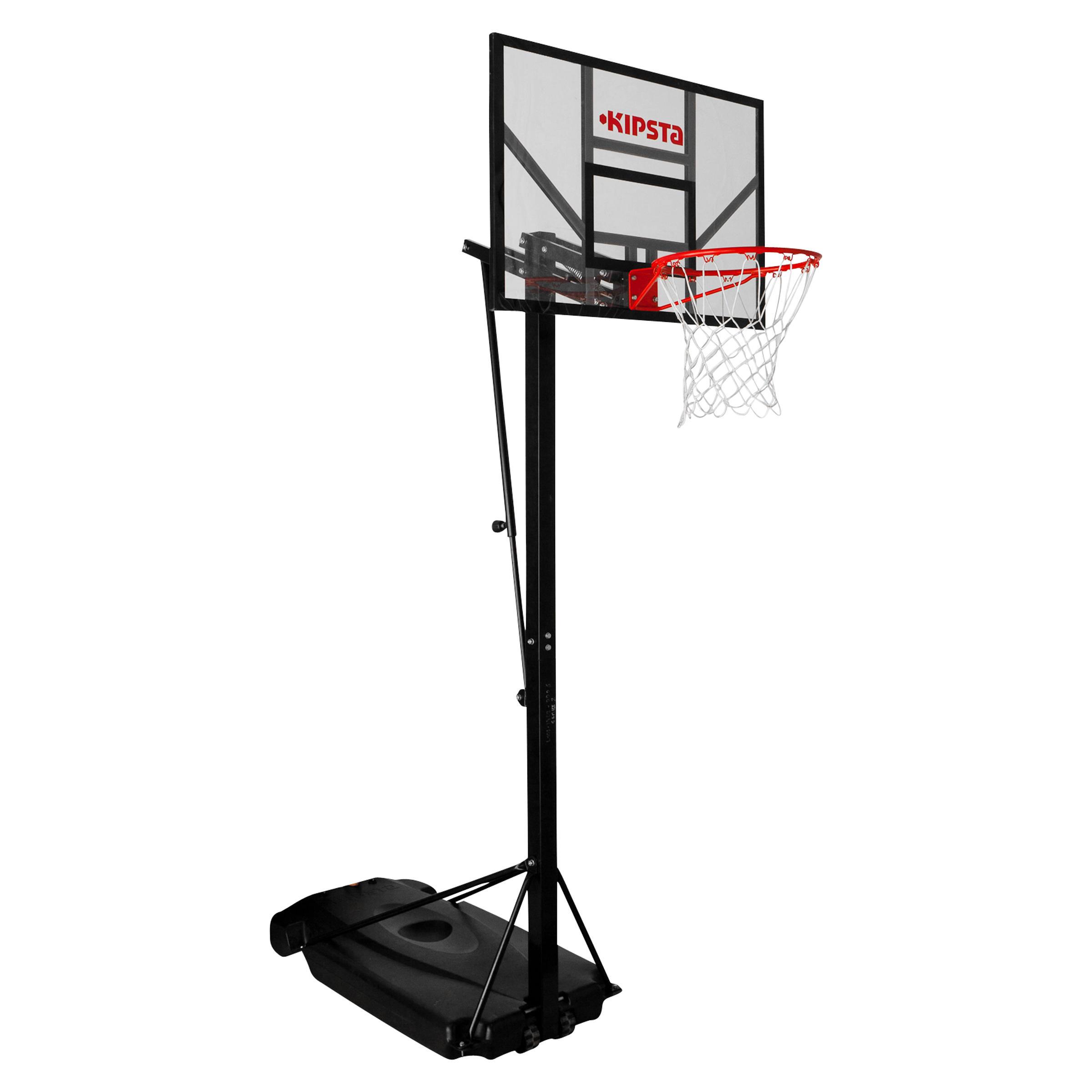 Tarmak Basketbalpaal B700 voor kinderen - volwassenen. 2,40 tot 3,05 m. 7 speelhoogtes.