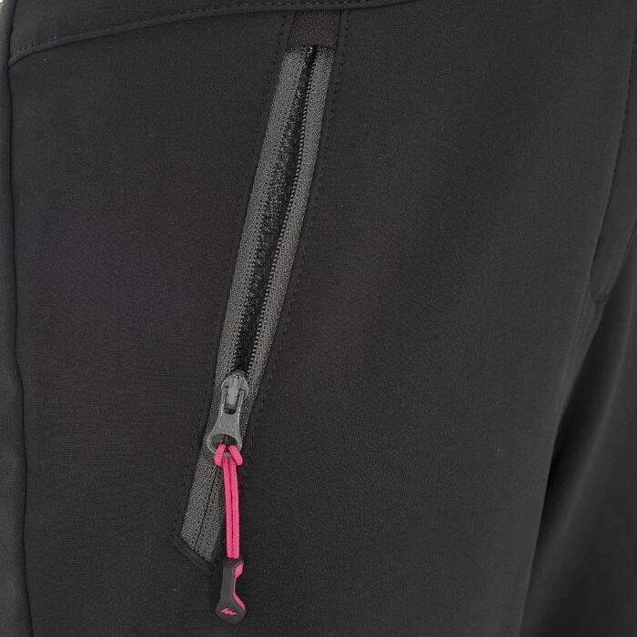 Pantalon Forclaz 500 Warm lady - 1033763