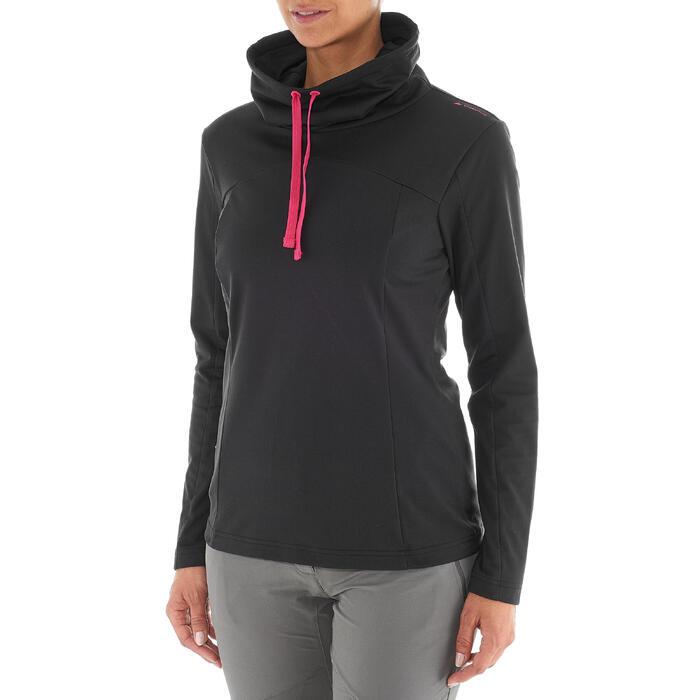 T-shirt voor wandelen in de sneeuw dames SH100 warm - 1033768
