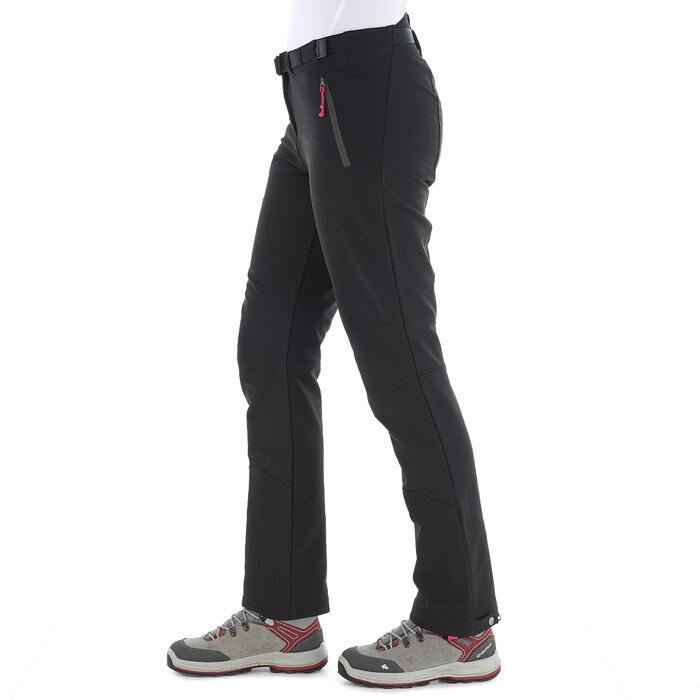 Pantalon Forclaz 500 Warm lady - 1033775